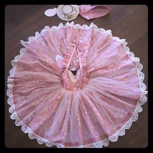 Dollcake NWT dress Southern flowers Vintage L@@k